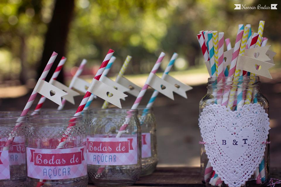 Matrimonio O Que é : Nossas bodas de açúcar bia e thiago