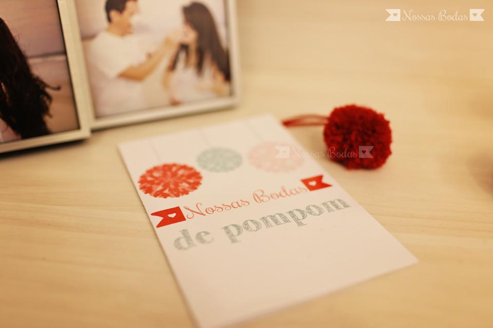 bodas de pompom