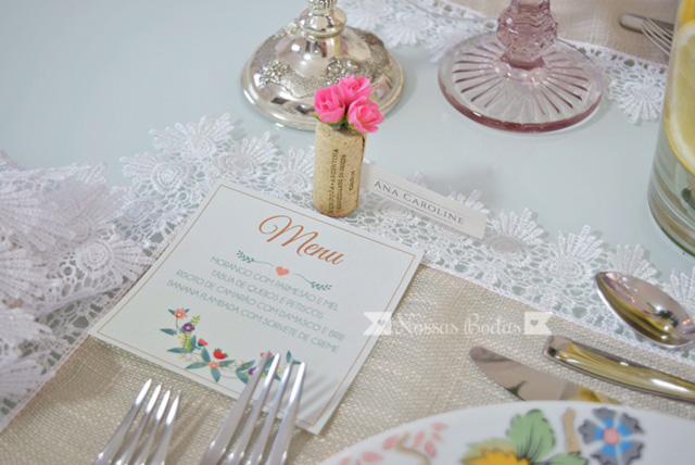 bodas de flores e frutas