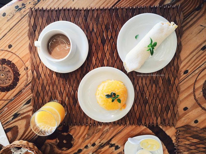 cafe da manhã villa mango