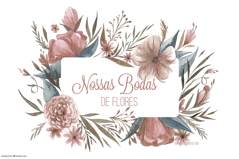 bodas de flores ou frutas