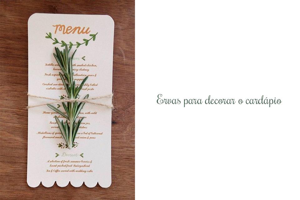 bodas de erva