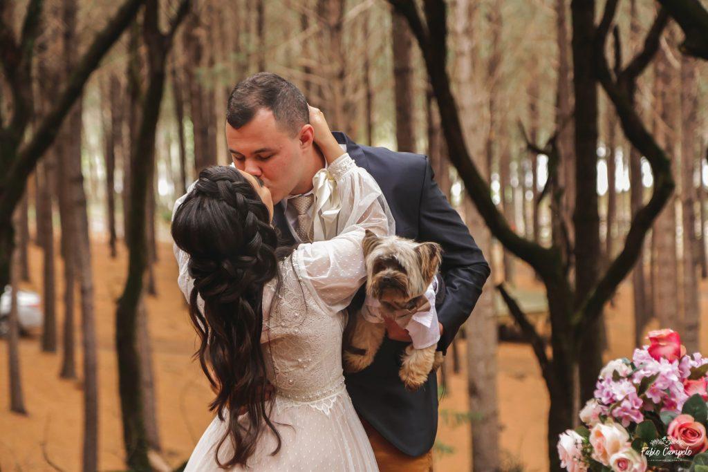 Renovação de votos - bodas de madeira - 5 anos de casamento