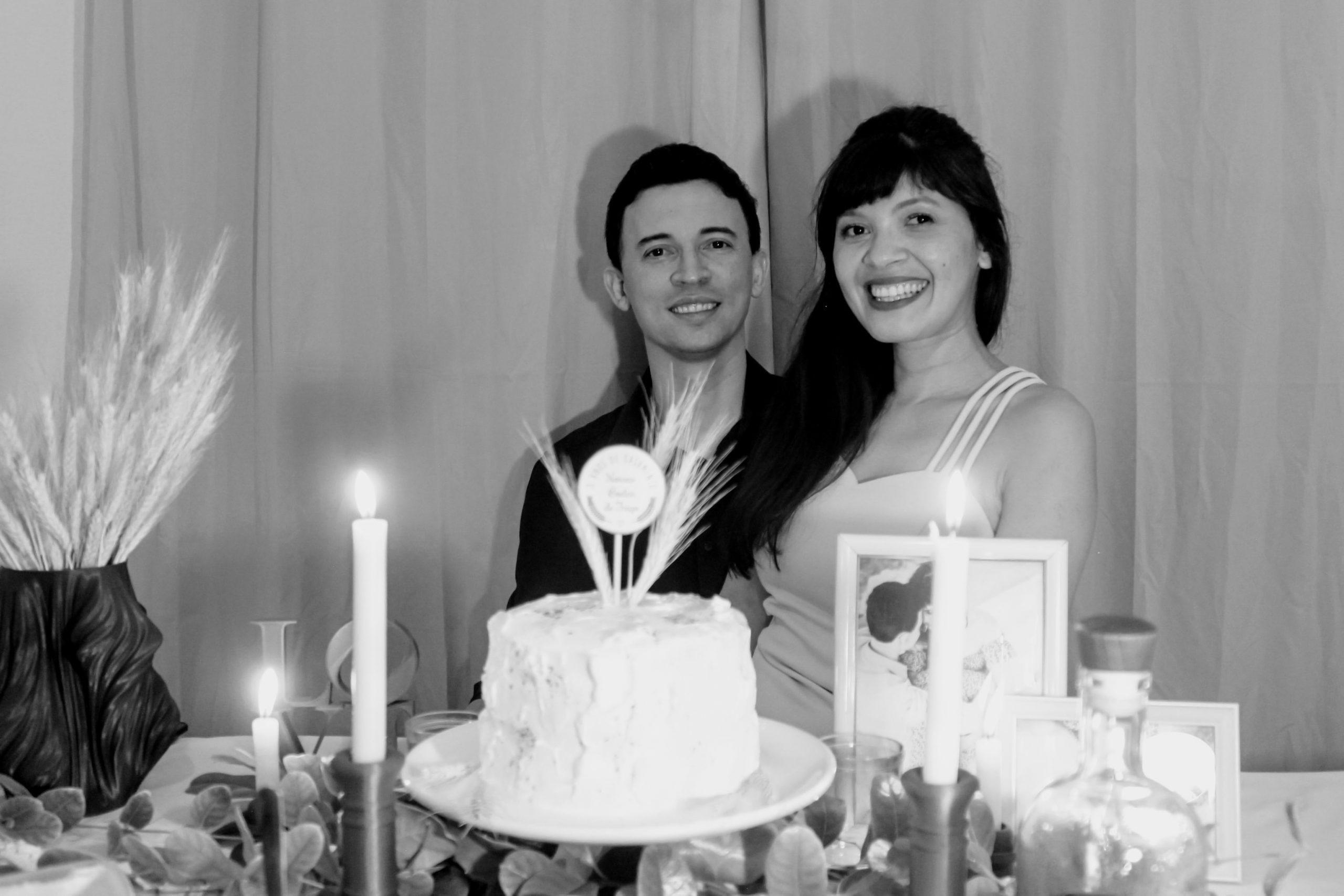 jantar aniversário de casamento
