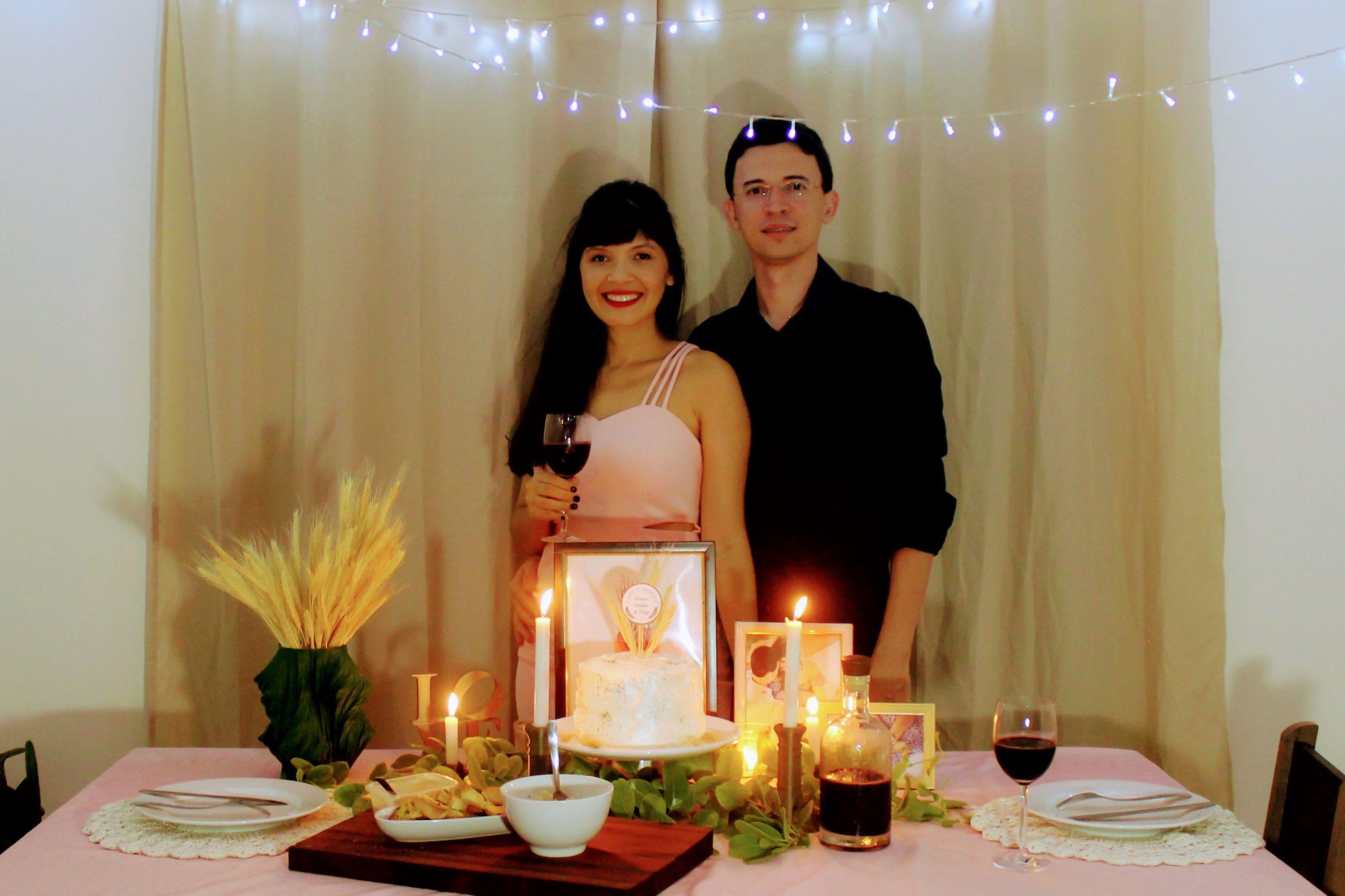 jantar romantico bodas