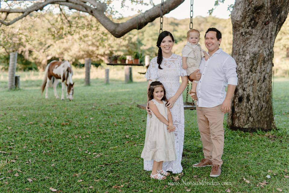 aniversário de casamento com filhos pequenos